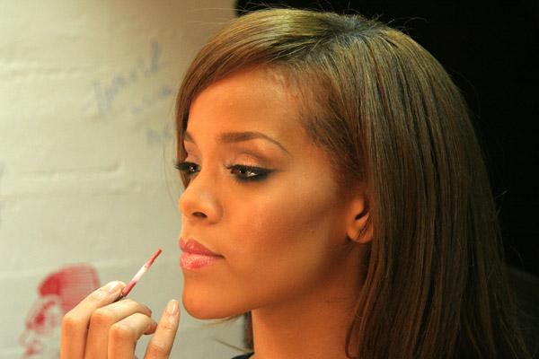 Rihanna Music Video Shoot - March 1, 2006