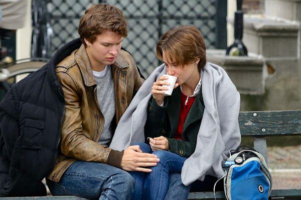Shailene Woodley and Ansel Elgort Film In Amsterdam